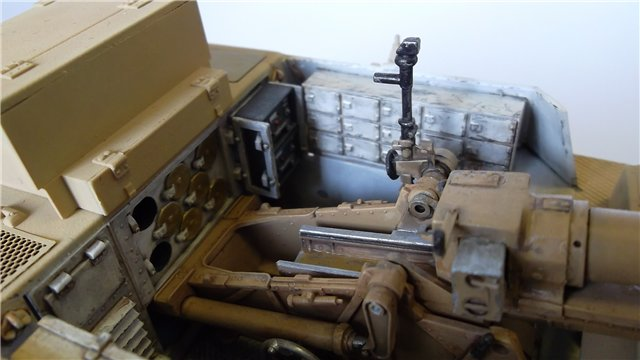 15 cm sIG auf Fahrgestell Pz II или Sturmpanzer II, 1/35, (ARK 35012) 53f1228a9df8