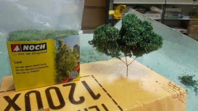 Деревья для диорам (возможные варианты). 86a2de37d949