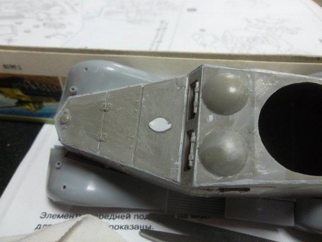 Бронеавтомобиль ФАИ-М, 1/35, (MSD 3562). Bbd306359dda