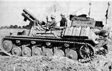 15 cm sIG auf Fahrgestell Pz II или Sturmpanzer II, 1/35, (ARK 35012) 4be1feb4984a