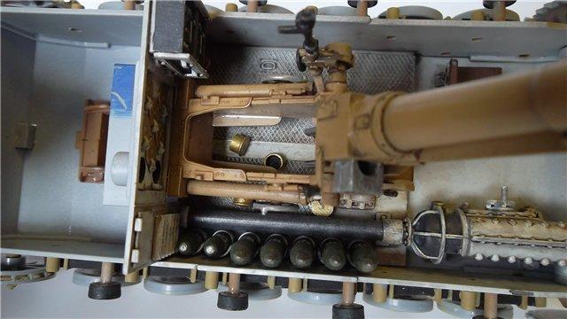 15 cm sIG auf Fahrgestell Pz II или Sturmpanzer II, 1/35, (ARK 35012) 67f9ac0011c5