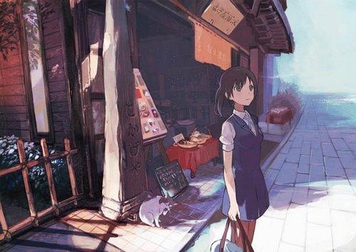 Арт нового аниме от P.A. Works 5be3dcf1c731