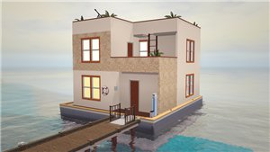 Плавучие, прибрежные дома - Страница 4 D90fd85bfe69