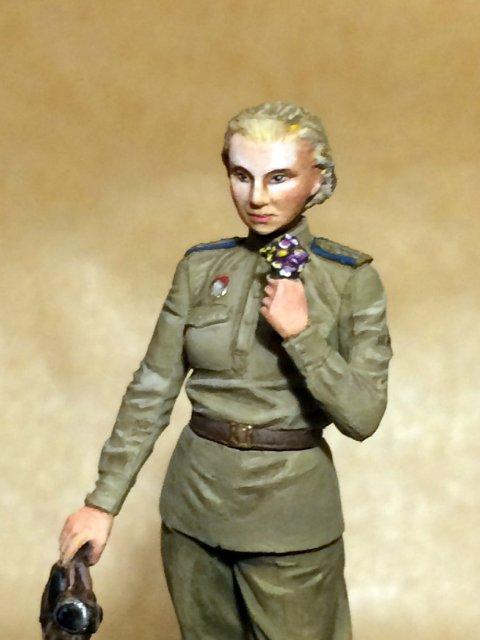 Лидия Литвяк, Master box 1/32 9610b38b31a0