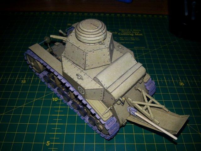 Т-18 (МС-1) Бумажное моделирование №45 369a9a924707