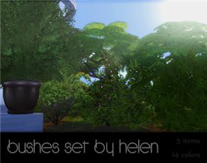 Растительность (кусты, деревья, камни) 389d293d3271
