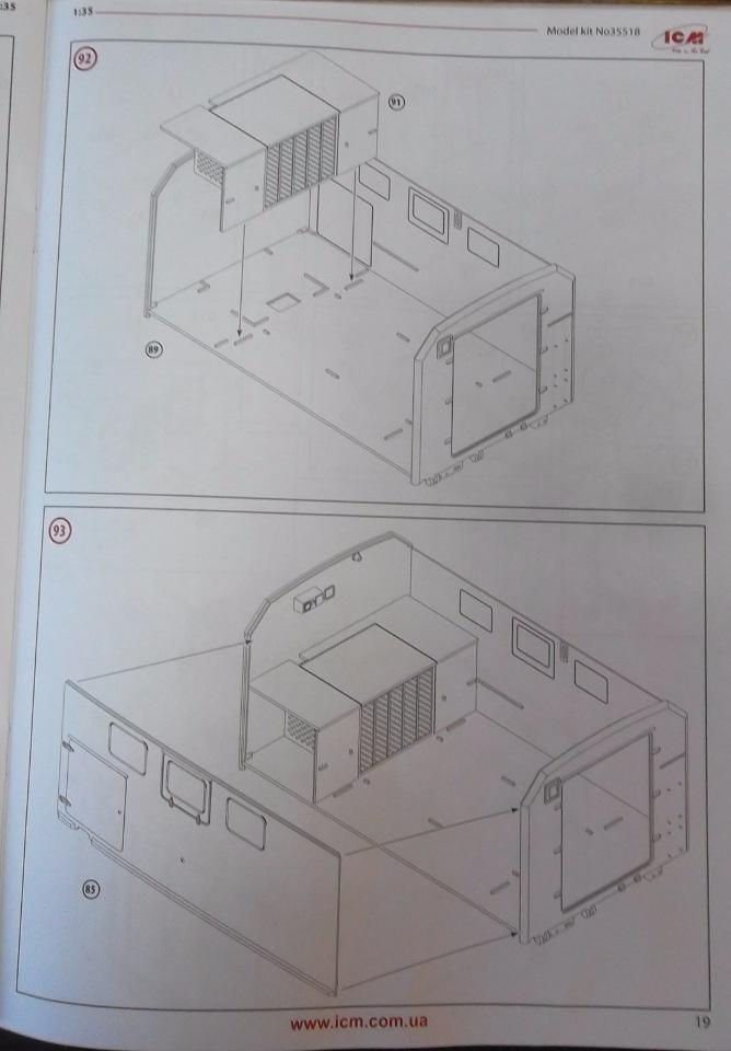 Обзор ЗиЛ-131 Аварийная служба / КУНГ, 1/35 (ICM 35518).  C0ed55af8f37
