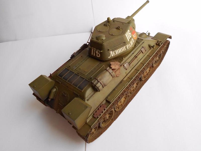 Т-34/76 выпуск начала 1943г 1/35 (Моделист №303529) - Страница 2 Cc936e8c413a