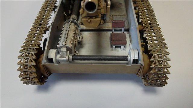 15 cm sIG auf Fahrgestell Pz II или Sturmpanzer II, 1/35, (ARK 35012) C49aa122a66d