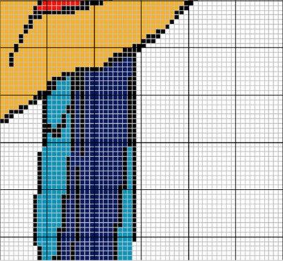 Креативная штора из бусин 2614570e4f77t