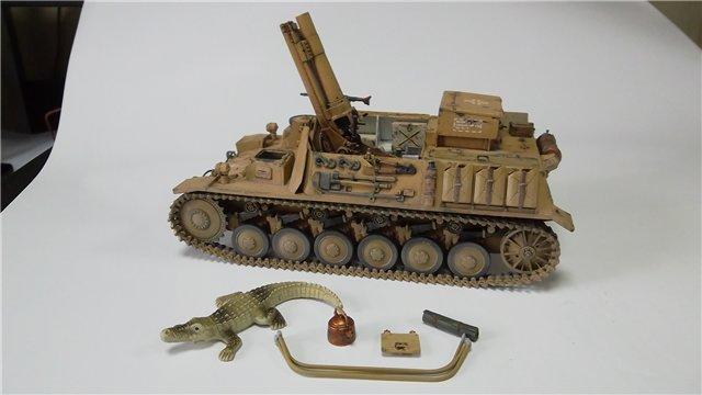 15 cm sIG auf Fahrgestell Pz II или Sturmpanzer II, 1/35, (ARK 35012) 944f4d41cdbc