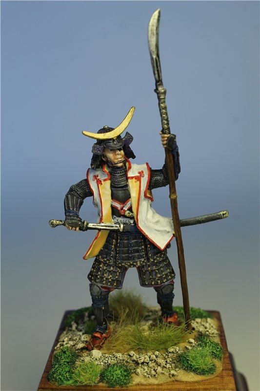 Самурай Датэ Масамунэ живший в 1566 – 1636 годах, 54мм. 67f54770ca88