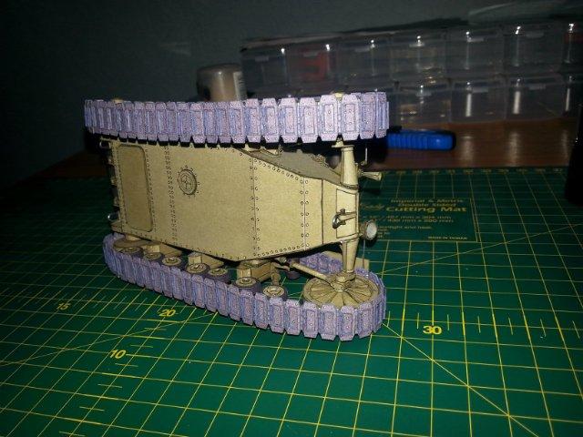 Т-18 (МС-1) Бумажное моделирование №45 8b1ab2c3b4c7