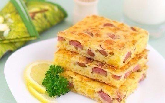 Пирог с сыром и сосисками - Страница 2 7c6cd0801b98