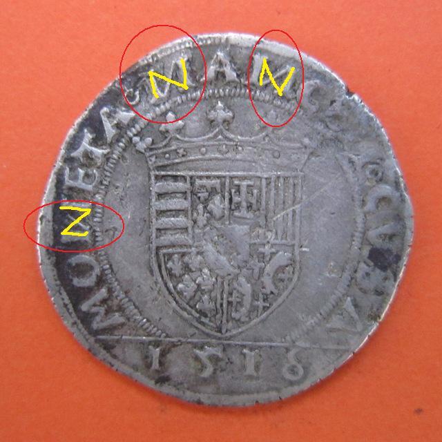 Teston. Lorraine  (Estados alemanes) 1516 6f6a425c8095