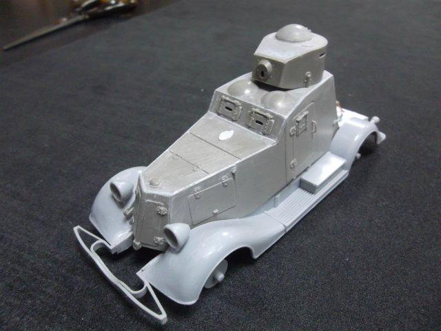 Бронеавтомобиль ФАИ-М, 1/35, (MSD 3562). 541ebd602381