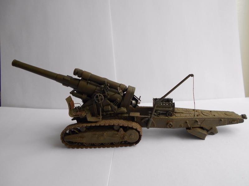 Советская 203-мм гаубица Б-4 1/35 (Alan №3522) - Страница 2 397c1e9ba928