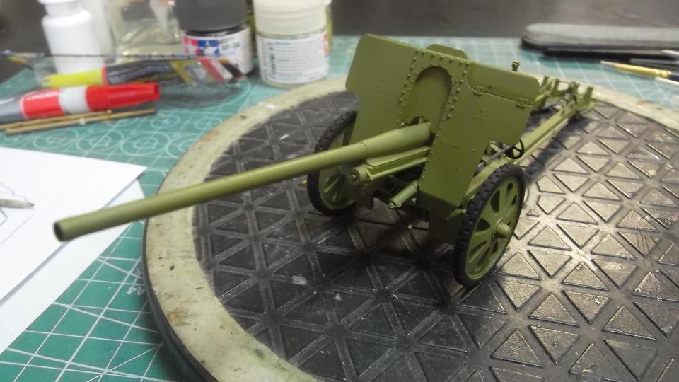 76-мм Дивизионная пушка Ф-22 обр.1936г., 1/35, (ICM 35702). B40e549b74a5