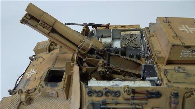 15 cm sIG auf Fahrgestell Pz II или Sturmpanzer II, 1/35, (ARK 35012) 5120b09a5750