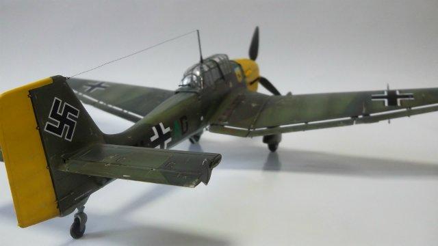 Ju-87 B-2 «Stuka», 1/48, (Tamiya 37008). B42c32defc1f