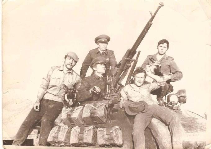 Т-55. ОКСВА. Афганистан 1980 год. Dc61bc32f1f9