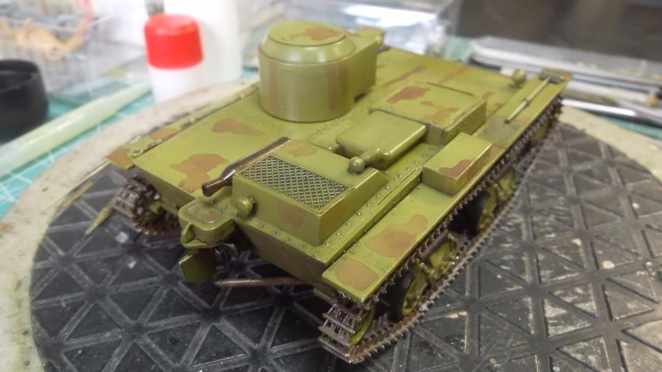 Т-38 малый плавающий танк, 1/35, (Восточный экспресс 35002 / MSD 3522 / AER Moldova). 2989a2ca3d86