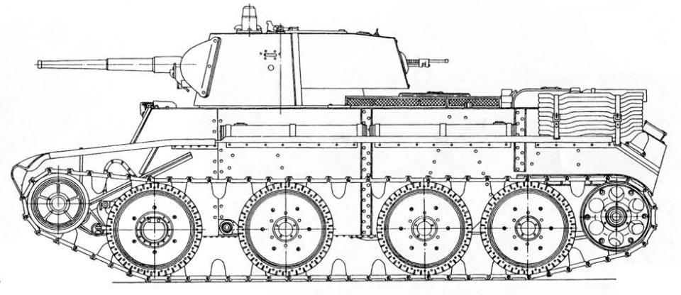 БТ-7 обр.1937г., 1/35, (ВЭ 35112). F284abb0c3d1