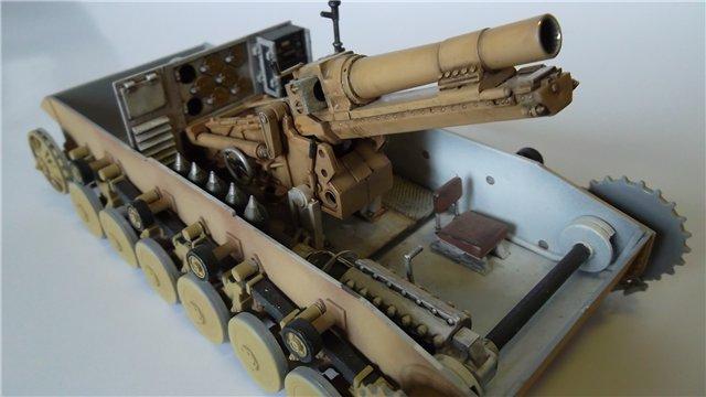 15 cm sIG auf Fahrgestell Pz II или Sturmpanzer II, 1/35, (ARK 35012) A634c12a10eb