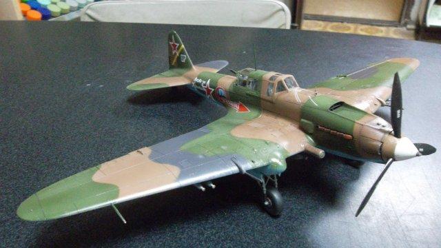 Ил-2, масштаб 1/48, (Tamiya 61113). E8e29059fc8f