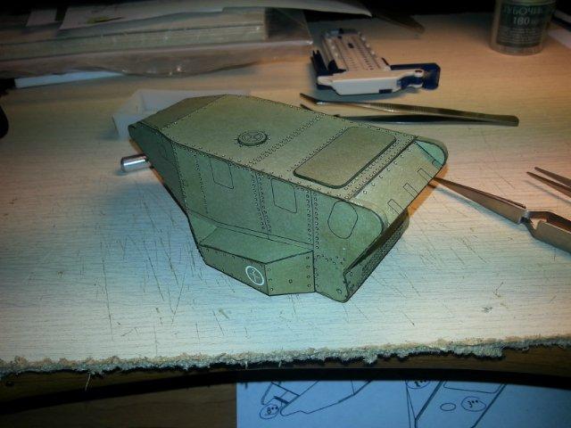 Т-18 (МС-1) Бумажное моделирование №45 C94bc74301a9