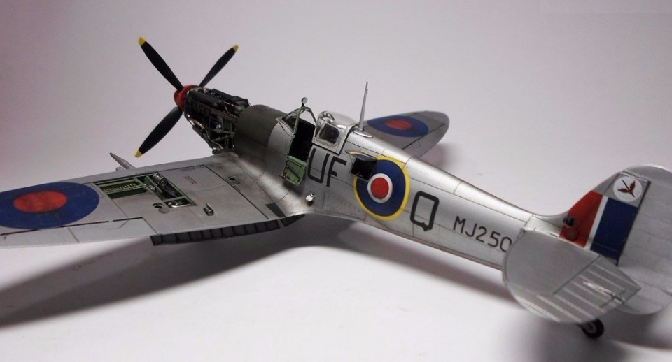 Supermarine Spitfire Eduard 1/48 36f72b1dd9b3