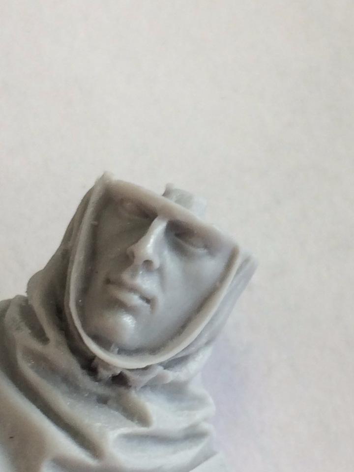 Бюст Нормандского вояки  8d182a1595ae