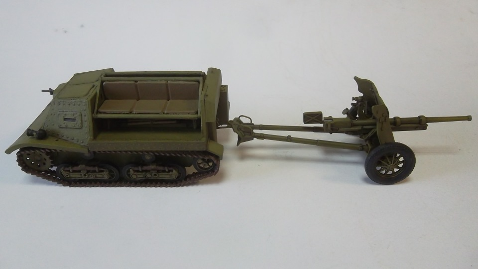 45-мм противотанковая пушка обр.1937 г., 1/35, (Алангер 035101). 33f84f69bbf7