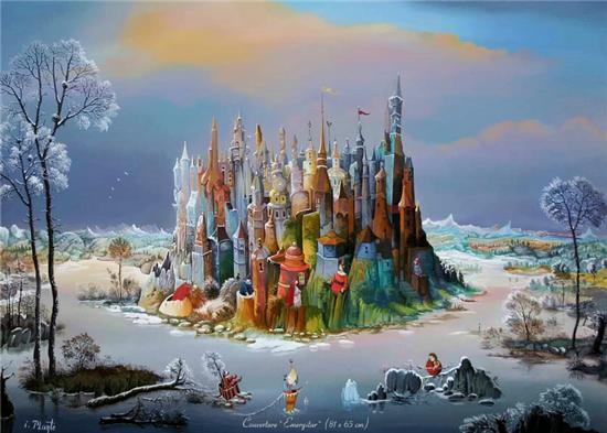 Мир волшебства в живописи. Аллегорические сюжеты. Cb171baf1f07