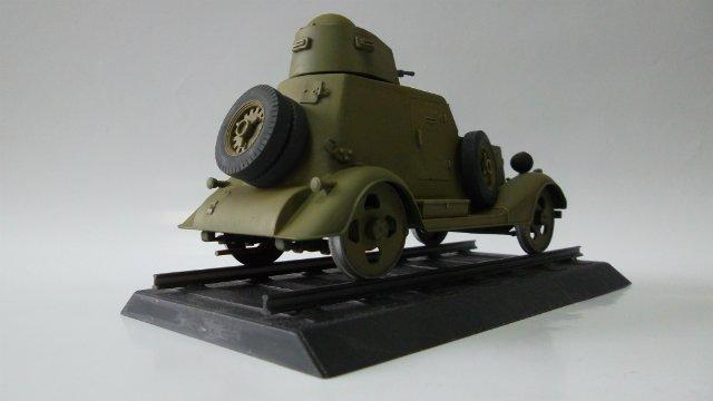 Бронеавтомобиль БА-20 Ж/Д, 1/35, (Старт). 59d18aaaeded