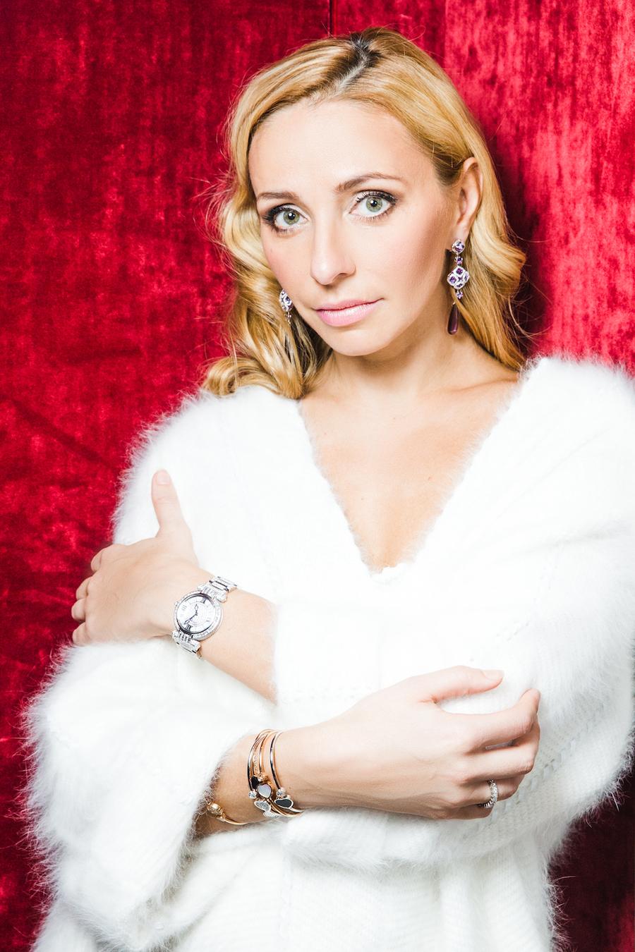 Татьяна Навка - официальный посол бренда Chopard E3f0dbad2df0
