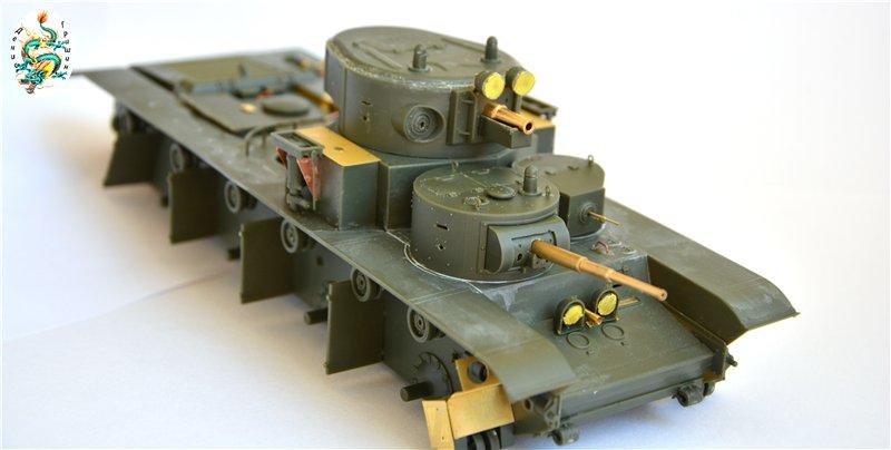 Soviet T-35 Heavy Tank Hobby/Boss 1/35 3453b0bd2c06