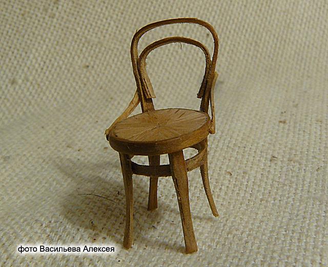 Старый венский стул масштаб 1:35 0f264f40bab2