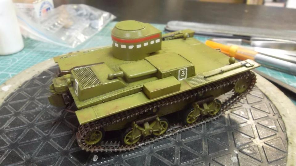 Т-38 малый плавающий танк, 1/35, (Восточный экспресс 35002 / MSD 3522 / AER Moldova). Aeb3cbc67713