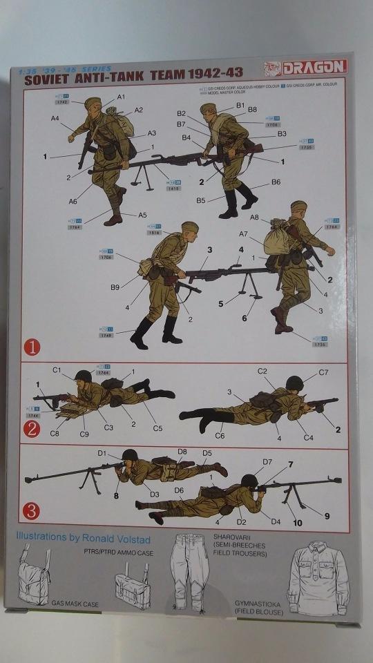 Обзор советские бронебойщики 1942-43, 1/35, (Dragon 6049). 476b939aab26
