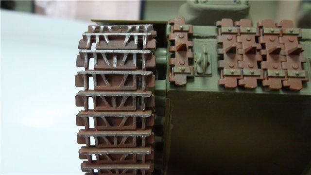 """ИСУ-152 """"Зверобой"""", 1/35, (Звезда 3532) перекраска старой модели. 526bcd1dbd25"""