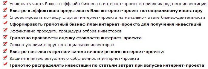 """Онлайн-тренинг на тему """"Как привлечь 300 000 руб. инвестиций под интернет-проект ?"""" 505d1677d3ca"""