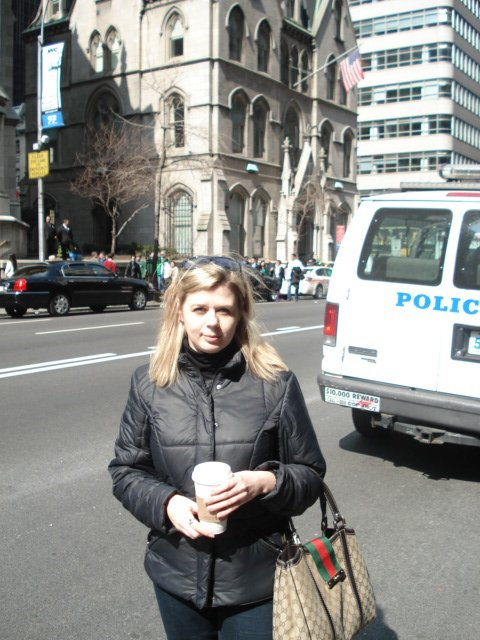 Нью-Йорк. День поголовного сумашедствия. День святого Патрика Bdd020459481