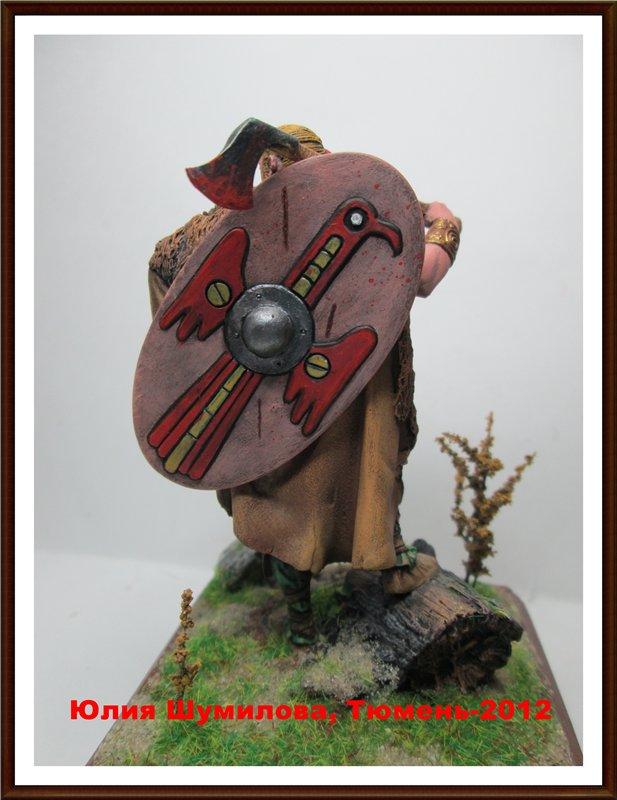 Германский воин, 2 в. н.э., 75мм. 9a847d6884b3
