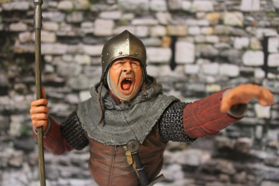 "2 шиллинга 5 пенсов ""Medieval guard"", Автор: Дмитрий Фурсов, г. Тамбов. B497606c88c8"