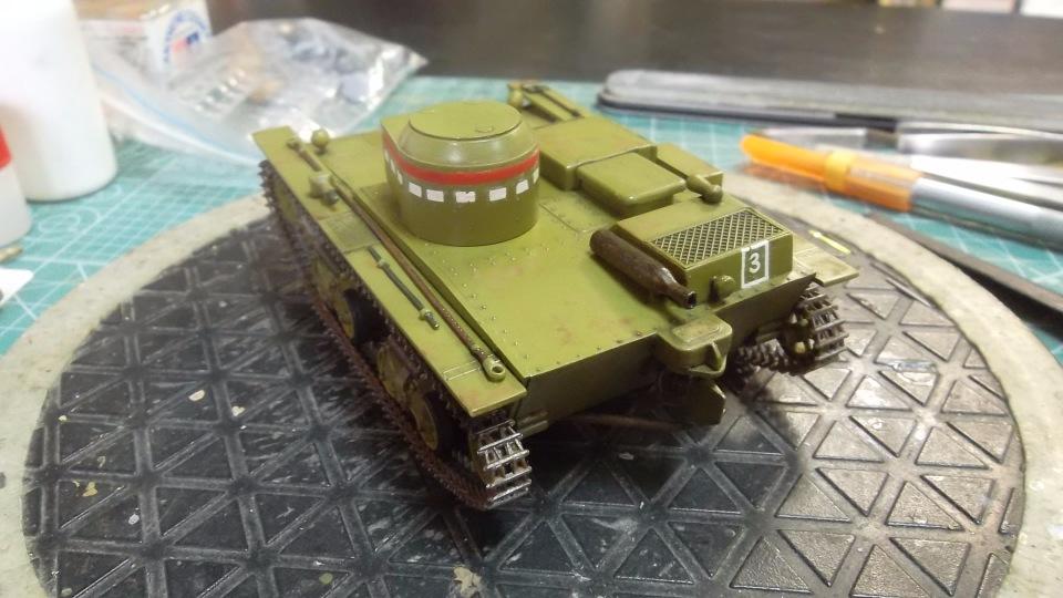 Т-38 малый плавающий танк, 1/35, (Восточный экспресс 35002 / MSD 3522 / AER Moldova). E09cd69ba3f7