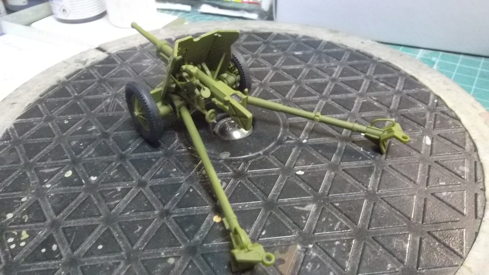 45-мм противотанковая пушка обр.1937 г., 1/35, (Алангер 035101). A62ab08efdfb