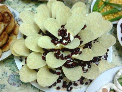 """Салат """"Гранатовый цветок"""" 8528aee13410"""