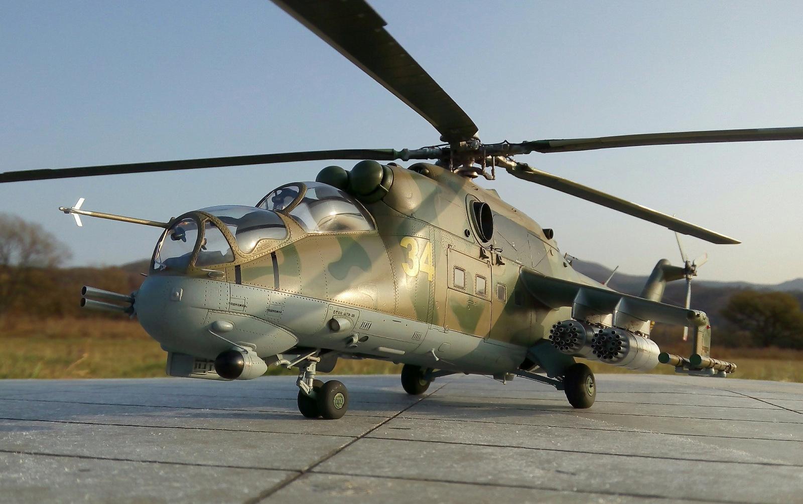 Ми-24П. Trumpeter. 1/35 093aa61965a3