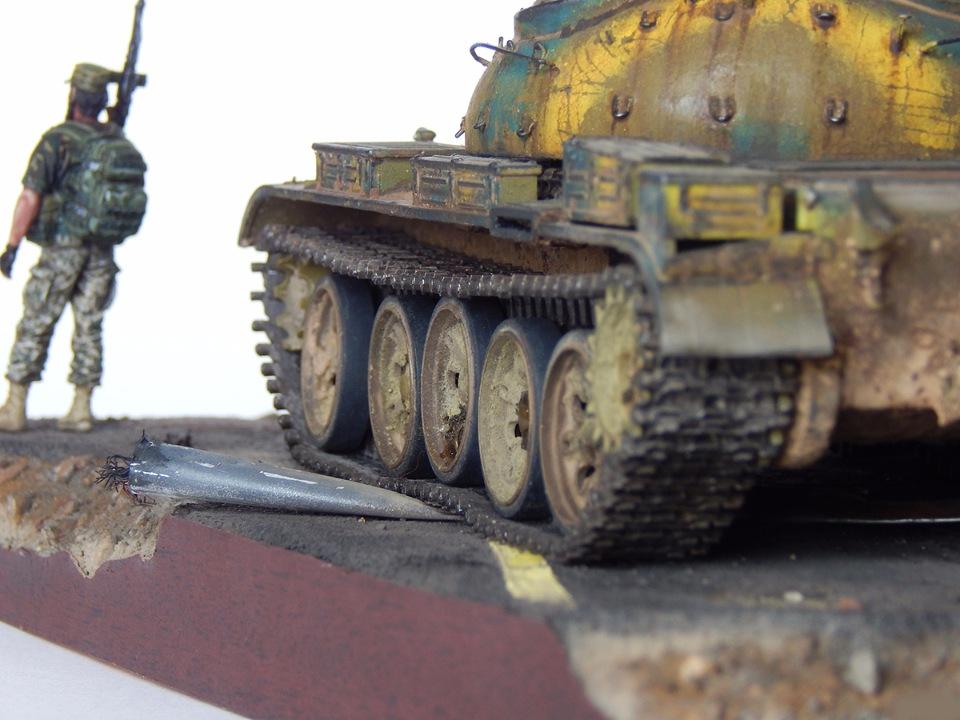 Сирийский Т-55А B2633a025dad
